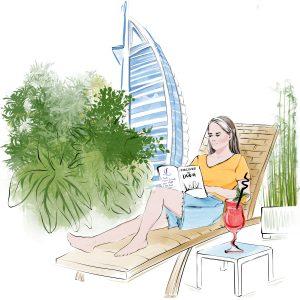 Nanny's day off in Dubai